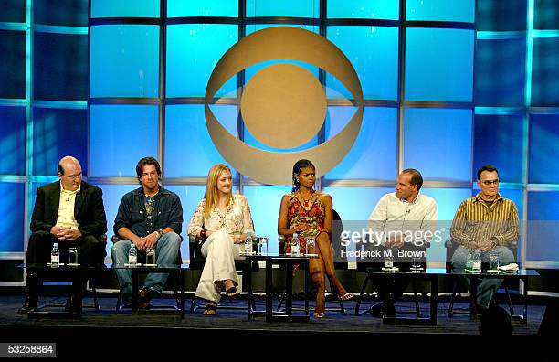 Actors John Carroll Lynch Christian Kane actresses Jennifer Finnigan Kimberly Elise Executive Producers Jonathan Littman and Jim Leonard attend the...
