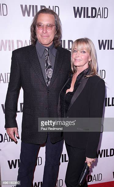Actors John Corbett and Bo Derek attend WildAid 2015 at Montage Hotel on November 7 2015 in Beverly Hills California