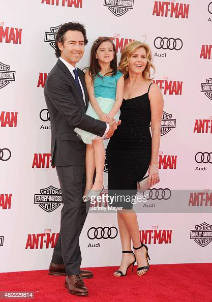 Actress Abby Ryder Fortson attends the premiere of Marvel