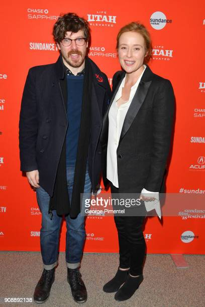 Actors John Gallagher Jr and Jennifer Ehle attend the 'The Miseducation Of Cameron Post' And 'I Like Girls' Premieres during the 2018 Sundance Film...