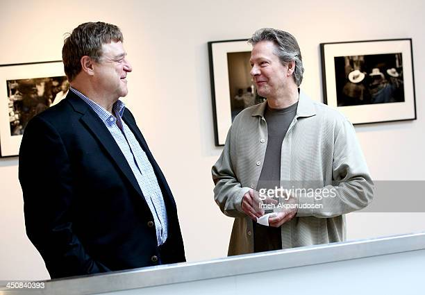 Actors John Goodman and Chris Cooper attend Variety Awards Studio Day 1 at the Leica Gallery and Store on November 20 2013 in West Hollywood...