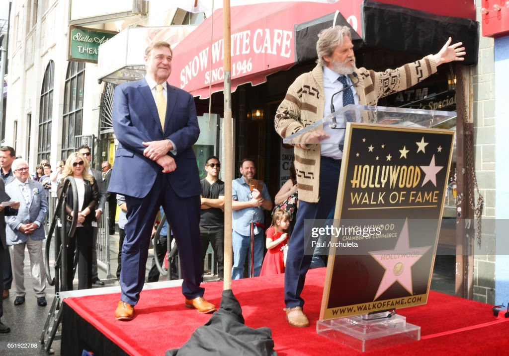John Goodman Honored With Star On The Hollywood Walk Of Fame : News Photo