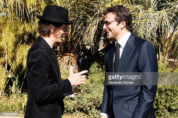 Actors John Hawkes and Bradley Cooper attend Variety's 10 Directors To Watch brunch at Parker Palm Springs on January 6 2013 in Palm Springs...