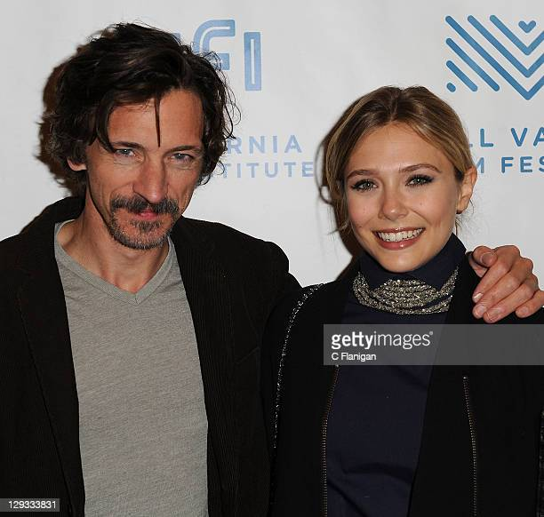 Actors John Hawkes and Elizabeth Olsen attend the Martha Marcy May Marlene Screening during the 2011 Mill Valley Film Festival at Christopher B Smith...