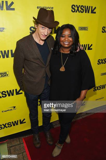 Actors John Hawkes and Octavia Spencer attend the 'Small Town Crime' premiere 2017 SXSW Conference and Festivals on March 11 2017 in Austin Texas