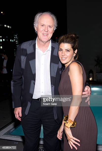 Actors John Lithgow and Marisa Tomei attend the Sony Pictures Classics With The Cinema Society Grey Goose screening of 'Love Is Strange' after party...