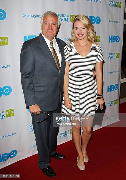 Actors John McCook and Molly McCook attend the RaiseAChildUS 2014 Honors Gala benefiting foster and adoption programs at the W Hollywood on May 18...