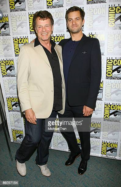 Actors John Noble and Joshua Jackson attend the 2009 ComicCon International Day 3 on July 25 2009 in San Diego California