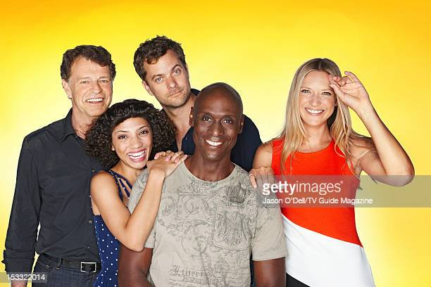 Actors John Noble Jasika Nicole Joshua Jackson Lance Reddick and Anna Torv are photographed for TV Guide Magazine on July 16 2012 on the TV Guide...