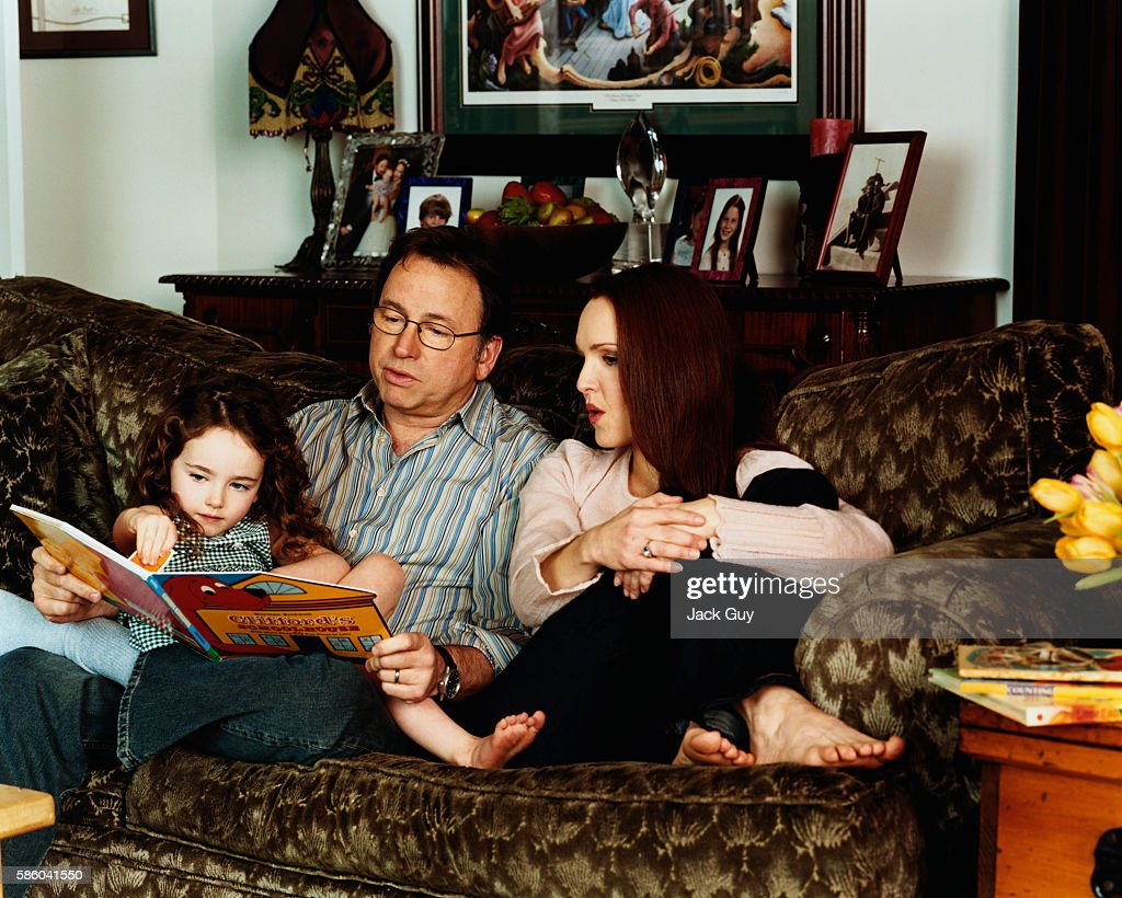 John Ritter and Amy Yasbeck, InStyle Magazine, March 2003 : News Photo