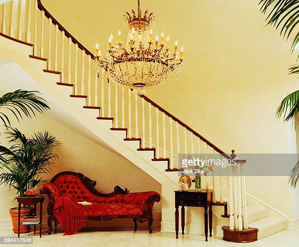 Actors John Ritter and Amy Yasbeck's home is photographed for InStyle Magazine in 2003 in Los Angeles California PUBLISHED IMAGE