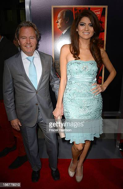 Actors John Savage and Blanca Blanco arrive at the premiere of Fox Searchlight Pictures' Hitchcock at the Academy of Motion Picture Arts and Sciences...