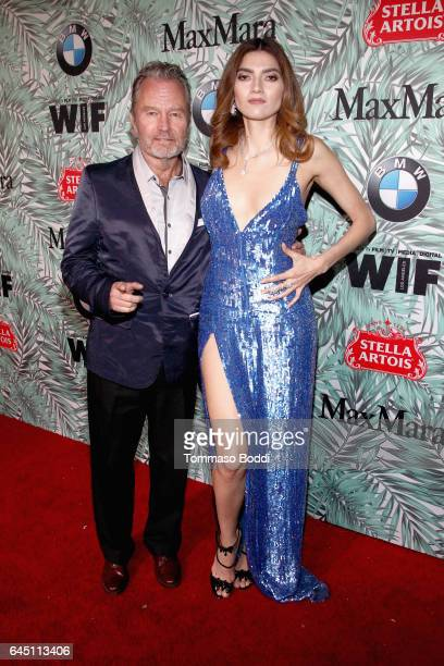 Actors John Savage and Blanca Blanco attend the tenth annual Women in Film PreOscar Cocktail Party presented by Max Mara and BMW at Nightingale Plaza...