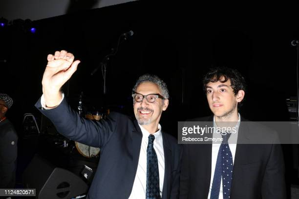 Actors John Turturro and Diego Turturro attend the Museum of Modern Art Film Benefit Presented by Chanel A Tribute to Martin Scorsese at the Museum...