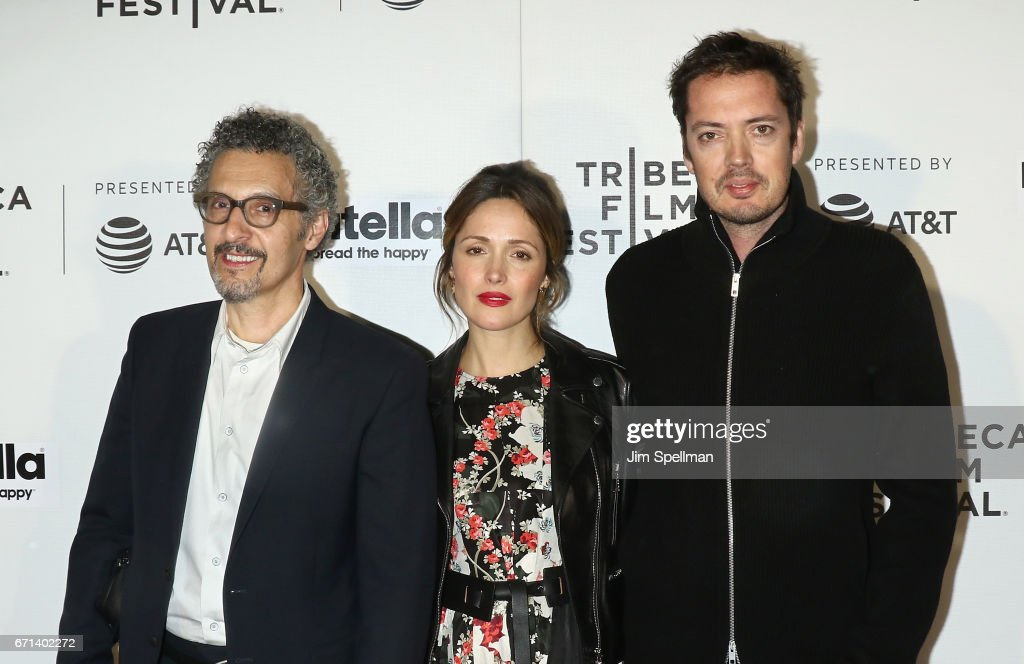 Actors John Turturro, Rose Byrne and Marcus Wainwright of 'Hair' attend the Shorts Program: New York - Group Therapy during the 2017 Tribeca Film Festival at Regal Battery Park Cinemas on April 21, 2017 in New York City.