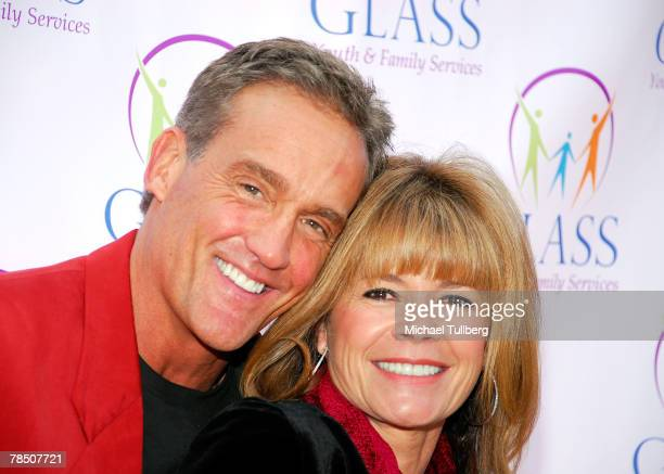 Actors John Wesley Shipp and MaryMargaret Humes arrive at the opening of the new Matthew Shephard House for foster and homeless youth on December 16...