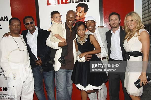 Actors John Witherspoon, Shawn Wayans, Linden Porco, Keenen Ivory Wayans, Kerry Washington, Marlon Wayans, producer Rick Alvarez and actor Brittany...