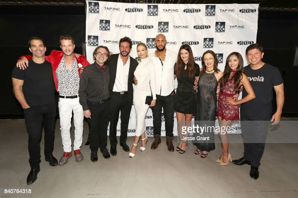 Actors Johnathon Schaech Nick Roux writer Jared Rivet producer Tommy Alastra actors Alyssa Julya Smith Jason Scott Jenkins Chelsea Ricketts Carol...
