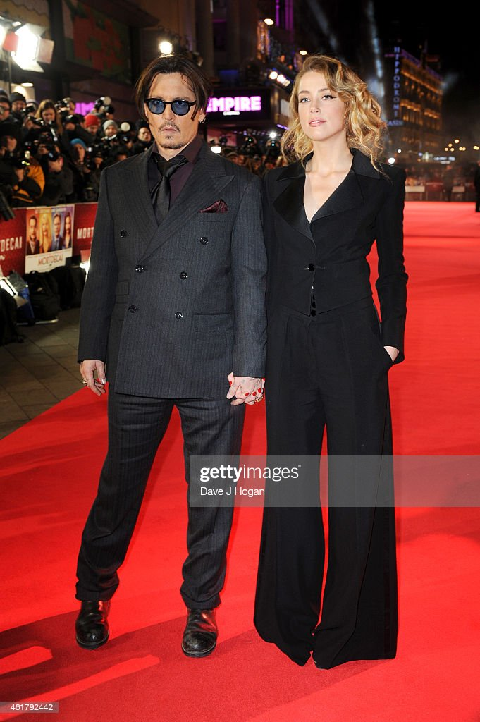 'Mortdecai' - UK Premiere - VIP Arrivals : News Photo