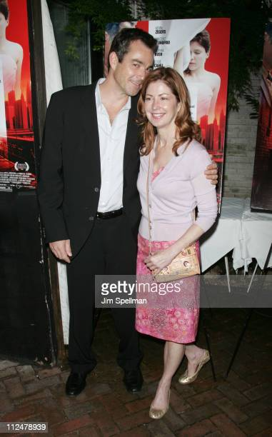 Actors Jon Tenney and Dana Delany attends The Narrows premiere at Bottino on June 19 2009 in New York City