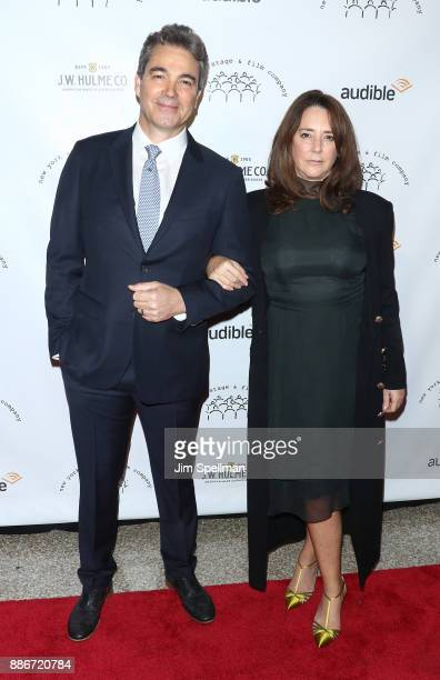 Actors Jon Tenney and Talia Balsam attend the 2017 New York Stage and Film Winter Gala at Pier Sixty at Chelsea Piers on December 5 2017 in New York...