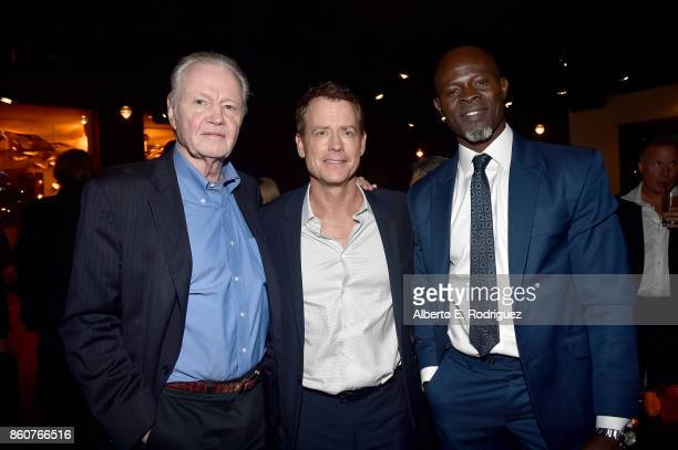 Actors Jon Voight Greg Kinnear and Djimon Hounsou attend the after party for the premiere of Paramount Pictures And Pure Flix Entertainment's Same...