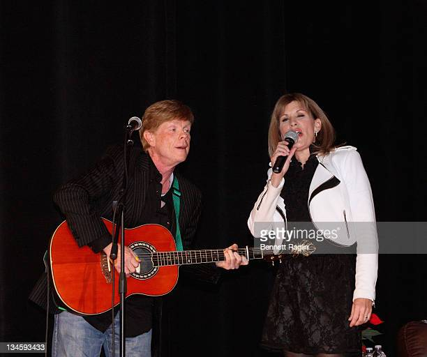 Actors Jon Walmsley and Judy Norton perform the 40th Anniversary Reunion Of The Waltons at Landmark Loew's Jersey City on December 2 2011 in Jersey...