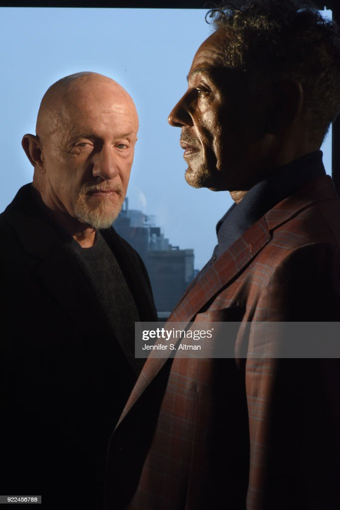 Jonathan Banks and Giancarlo Esposito, Los Angeles Times, June 8, 2017 : ニュース写真