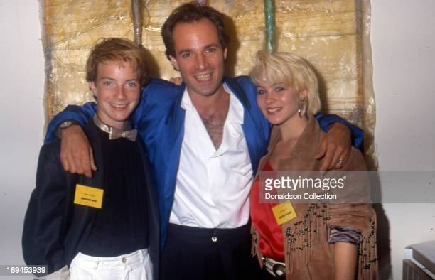 Actors Jonathan Ward Robert Desiderio and Christina Applegate pose for a portrait at the premiere of the TV show 'Heart Of The City in 1986 in Los...