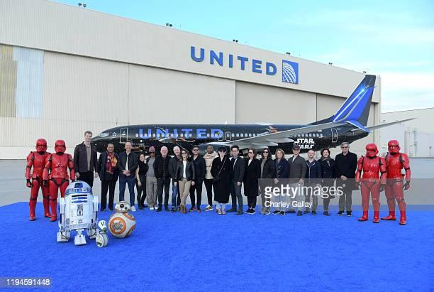 Actors Joonas Suotamo, Billy Dee Williams, Richard E. Grant, Kelly Marie Tran, Naomi Ackie, Ian McDiarmid, Anthony Daniels, Keri Russell, Oscar...