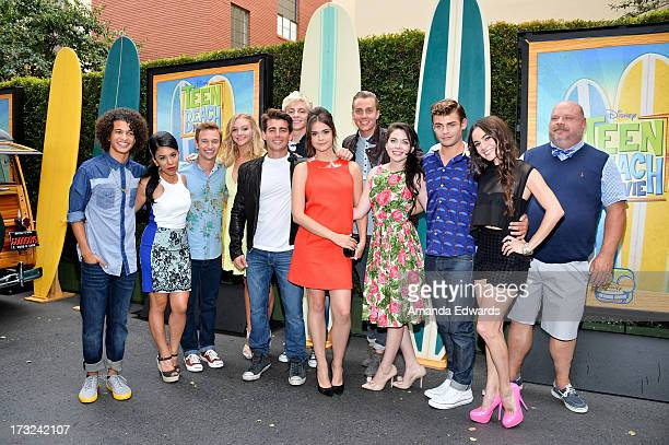 Actors Jordan Fisher Chrissie Fit Kent Boyd Mollee Gray John DeLuca Ross Lynch Maia Mitchell William T Loftis Grace Phipps Garrett Clayton Jessica...