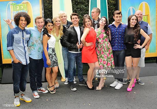 Actors Jordan Fisher, Kent Boyd, Chrissie Fit, Mollee Gray, Ross Lynch, John Deluca, Maia Mitchell, William Loftis, Grace Phipps, Garrett Clayton,...