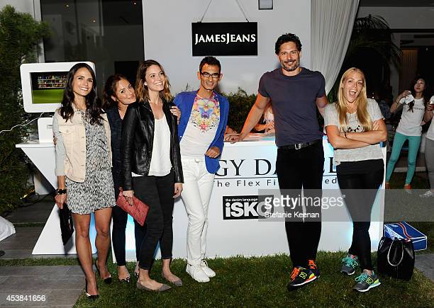Actors Jordana Brewster, Minka Kelly, singer Mandy Moore, Senior Marketing Executive at ISKO Kutay Saritosun, actors Joe Manganiello and Busy...