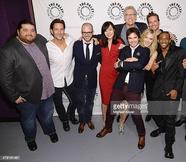 Actors Jorge Garcia Henry Ian Cusick executive producer Damon Lindelof actors Yunjin Kim Ian Somerhalder executive producer Carlton Cuse actors...