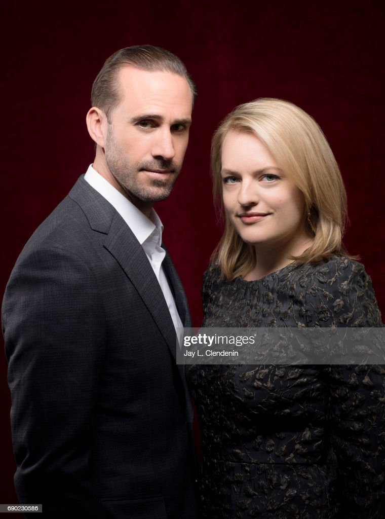 Elisabeth Moss and Joseph Fiennes, Los Angeles Times, May 11, 2017