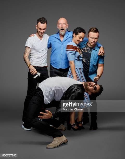 Actors Joseph Gilgun Graham McTavish Ruth Negga Ian Colletti and Dominic Cooper from Preacher are photographed for Entertainment Weekly Magazine on...