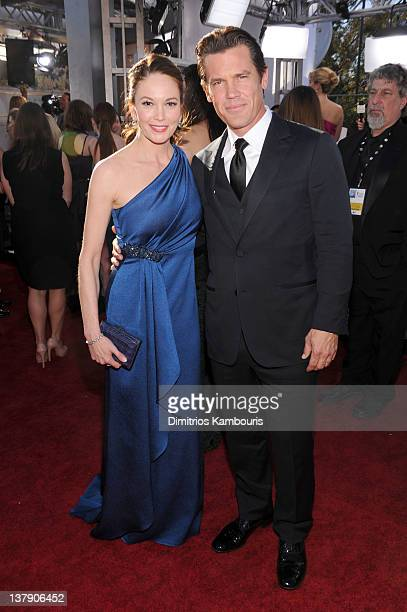 Actors Josh Brolin and Diane Lane arrive at The 18th Annual Screen Actors Guild Awards broadcasted on TNT/TBS at The Shrine Auditorium on January 29,...