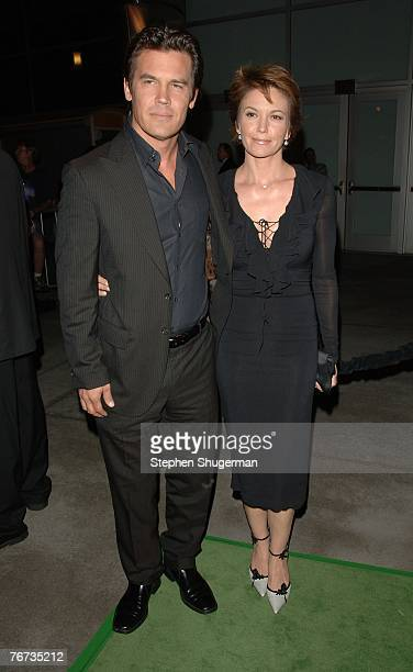 """Actors Josh Brolin and Diane Lane attend the Los Angeles Premiere of """"In The Valley Of Elah"""" at the ArcLight Cinema on September 13, 2007 in..."""