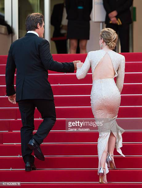 """Actors Josh Brolin and Emily Blunt attend the """"Sicario"""" Premiere during the 68th annual Cannes Film Festival on May 19, 2015 in Cannes, France."""