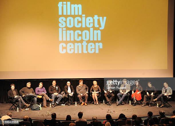 Actors Josh Hamilton Stephen Adly Guirgis Matthew Broderick Jean Reno panel host Gavin Smith Director Kenneth Lonergan J SmithCameron Jake O'Connor...