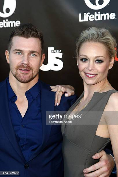 Actors Josh Kelly and Alexandra Holden attend the Lifetime and Us Weekly cocktail party celebrating series premiere of 'Unreal' held at SIXTY Beverly...