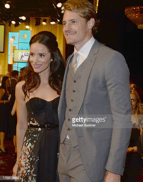 Actors Josh Pence and Abigail Spencer attend Broadcast Television Journalists Association's third annual Critics' Choice Television Awards at The...