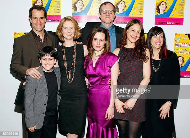 Actors Josh Stamberg Matthew Gumley Cynthia Nixon Shana Dowdeswell director Mark Brokaw actress Natalie Gold and Playwright Lisa Loomer attend the...