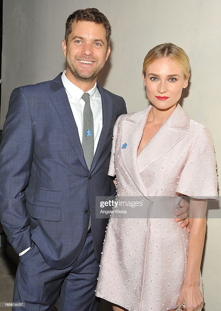 Actors Joshua Jackson and Diane Kruger attend Autism Speaks' 3rd Annual 'Blue Jean Ball' presented by The GUESS Foundation at Boulevard 3 on October 24, 2013 in Hollywood, California.