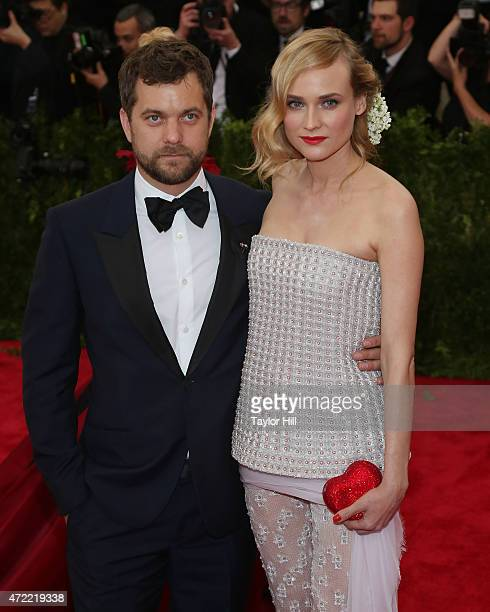 Actors Joshua Jackson and Diane Kruger attend 'China Through the Looking Glass' the 2015 Costume Institute Gala at Metropolitan Museum of Art on May...