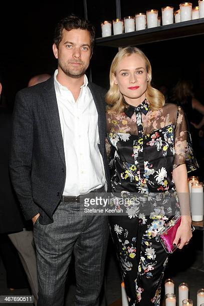 Actors Joshua Jackson and Diane Kruger attend Hollywood Stands Up To Cancer Event with contributors American Cancer Society and Bristol Myers Squibb...