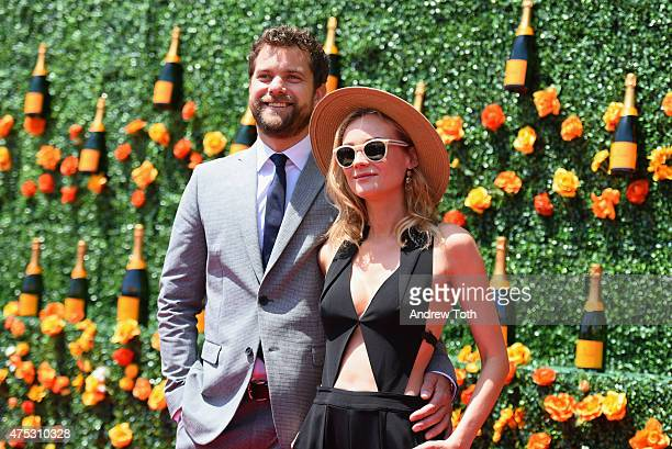Actors Joshua Jackson and Diane Kruger attend the 8th Annual Veuve Clicquot Polo Classic at Liberty State Park on May 30, 2015 in Jersey City, New...