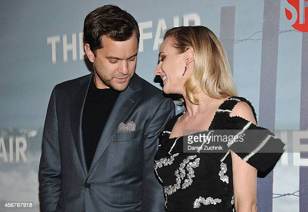 Actors Joshua Jackson and Diane Kruger attend 'The Affair' New York Series Premiere on October 6 2014 in New York City
