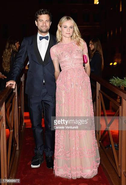 Actors Joshua Jackson and Diane Kruger attend the Valentino Ball during the 70th Venice International Film Festival at at Palazzo Volpi on September...