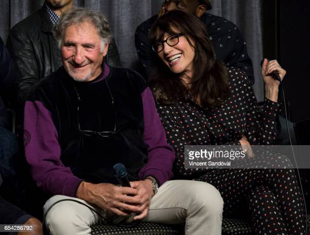 Actors Judd Hirsch and Katey Sagal attend SAGAFTRA Foundation's Conversations with 'Superior Donuts' at SAGAFTRA Foundation Screening Room on March...